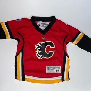 NHL Baby (1-2 Y/O) Calgary Flames Hockey Jersey